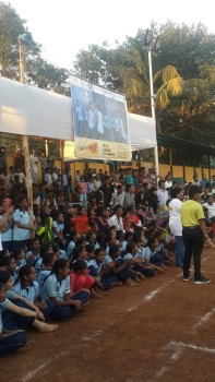 More than 500 spectators from the community attended the tournament