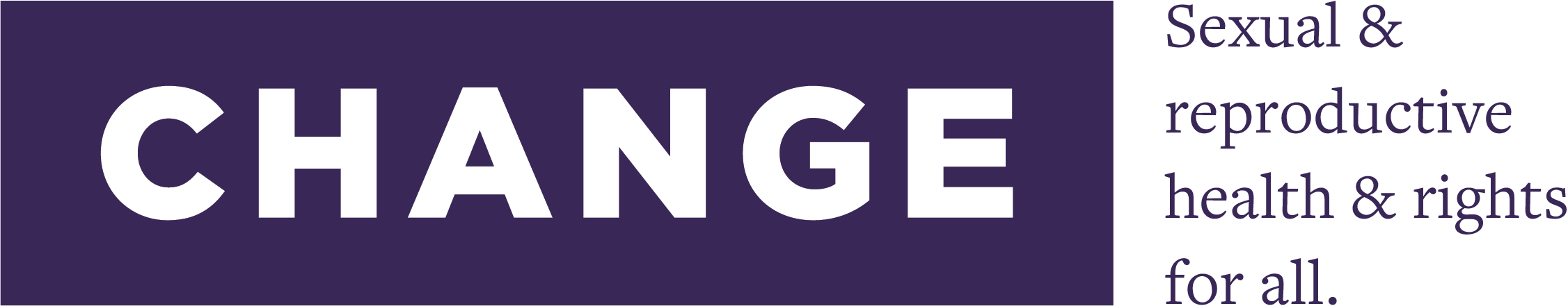 Center for Health and Gender Equity (CHANGE) - logo