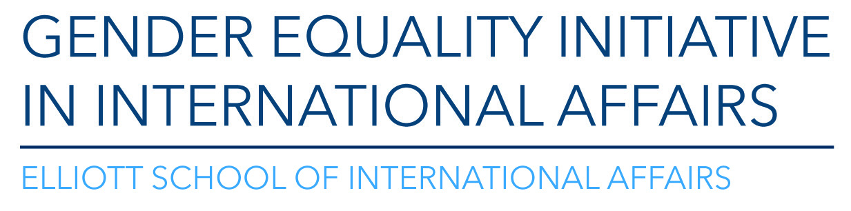 Gender Equality Initiative in International Affairs: Elliott School of International Affairs - logo