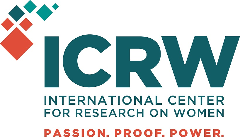 International Center for Research on Women - logo