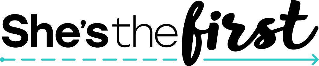 She's the First - logo