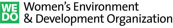 Women's Environment & Development Organization (WEDO) - logo