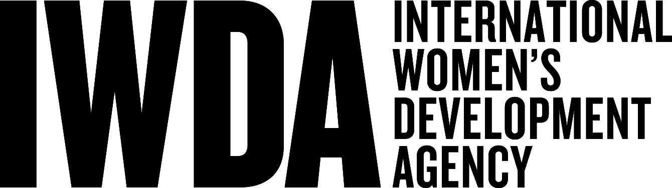 International Women's Development Agency (IWDA) - logo