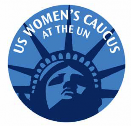 US Women's Caucus at the UN - logo