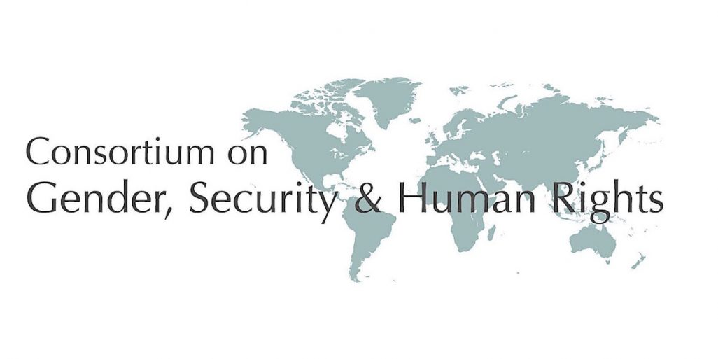 Consortium on Gender, Security and Human Rights - logo